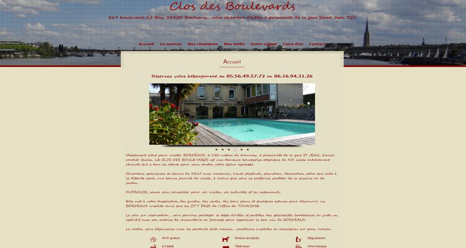 visitez le site du Clos des Boulevards